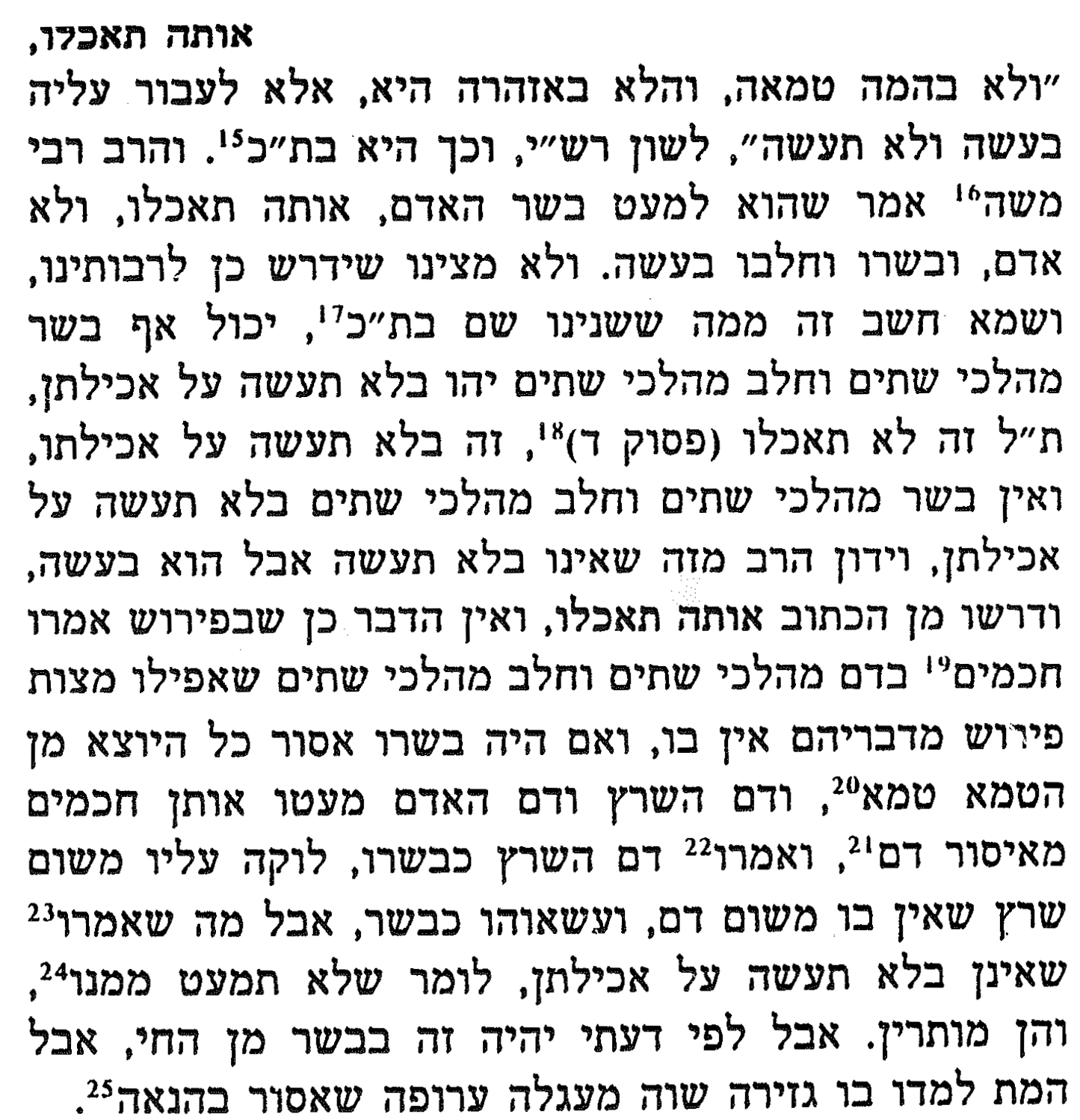 scan from Nachmanides' commentary on the Torah [Hebrew]